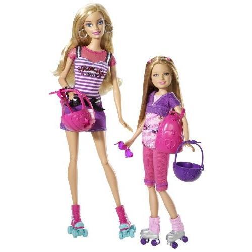 バービーBarbie Sisters Barbie and Stacie Dolls 2-Pack