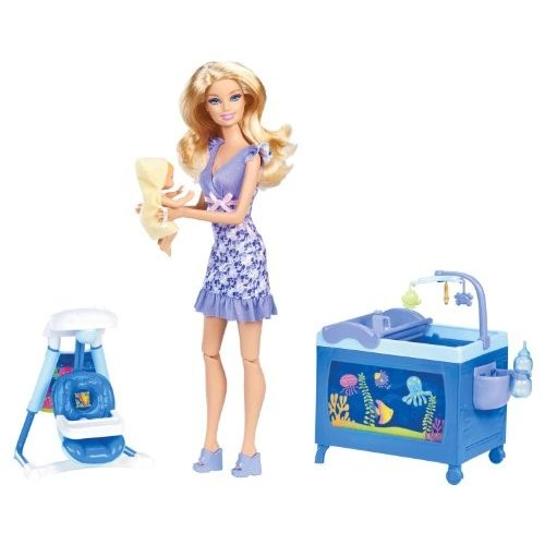 バービーBarbie I Can Be Baby Sitter Playset