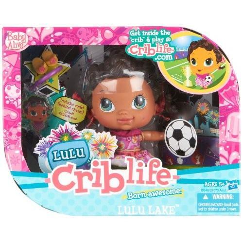 ベビーアライブBaby Alive Crib Life Fashion Play Doll - Lulu Lake