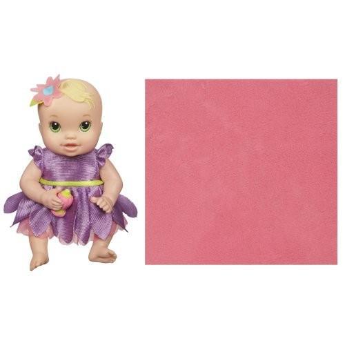 ベビーアライブBaby Alive Kicks and Cuddles Newborns Doll - Caucasian 緑 Eyes, 6-Inch