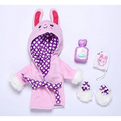 ベビーアライブBaby Alive Plush Bunny Bathrobe Outfit