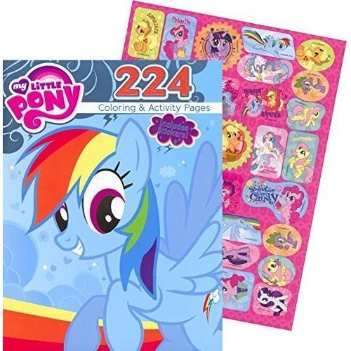 マイリトルポニーMy Little Pony Giant Coloring and Activity Book with Stickers (224 Pages)