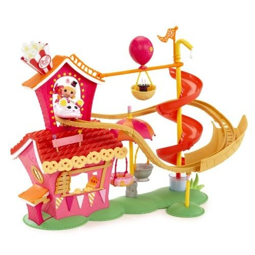 ララループシーLalaloopsy Mini Silly Fun House Playset with Misty Mysterious