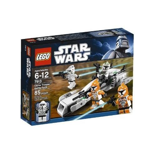 レゴLEGO Star Wars Clone Trooper Battle Pack 7913 (Discontinued by manufacturer)