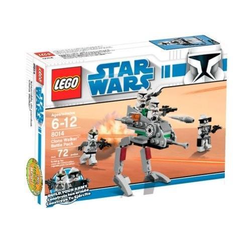レゴLEGO Star Wars Clone Walker Battle Pack (8014) (Discontinued by manufacturer)