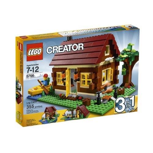レゴLEGO Creator Log Cabin 5766 (Discontinued by manufacturer)
