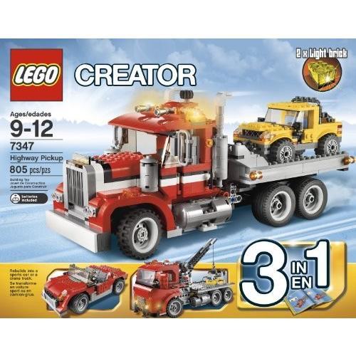 レゴLEGO Creator 7347 Highway Pickup