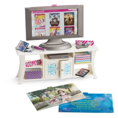 アメリカンガールドールAmerican Girl Truly Me Music and Movies Entertainment Set for 18