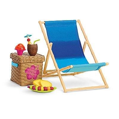 アメリカンガールドールAmerican Girl Beach Chair Set