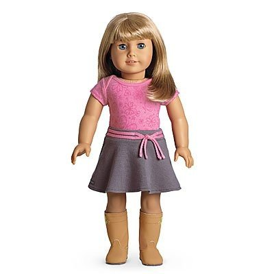 アメリカンガールドールAmerican Girl - My American Girl Doll with Light Skin, Short Blonde Hair with Bangs and 青 Eyes