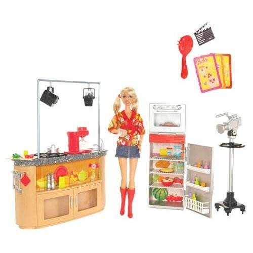 バービーBarbie Mattel I Can Be TV Chef Playset