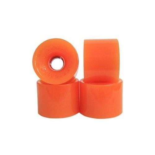 ウィールSeismic Wheels - Hot Spot 69mm x 52mm - 78A - オレンジ