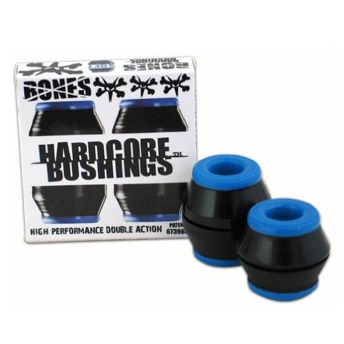 ブッシュBones Hardcore Bushing Hard Medium Soft 黒 白い (Soft 黒)