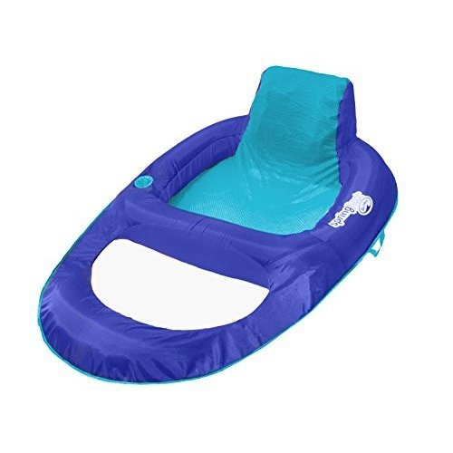 フロートSwimWays Spring Float Recliner XL - Extra Large Swim Lounger for Pool or Lake