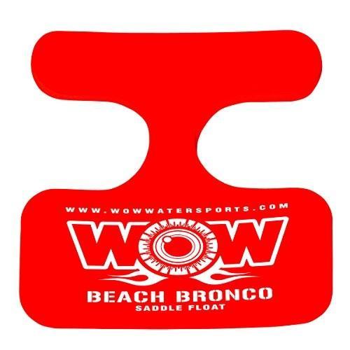フロートWOW World of Watersports, 14-2140 Beach Bronco Floating Pool Seat, Saddle Float, 赤