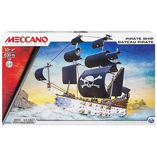 アンクルミルトンMeccano Elite Pirate Ship Model Set