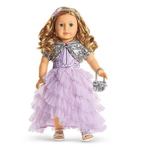 アメリカンガールドールAmerican Girl Doll 2015 Exclusive Holiday Frosted Violet Gown for Dolls