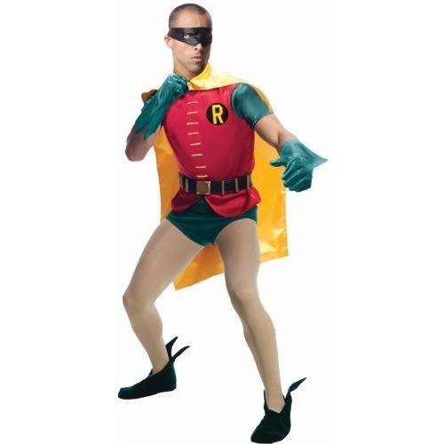コスプレ衣装Rubie's Grand Heritage Robin Classic TV Batman Circa 1966, Multicolor, X-large Costume