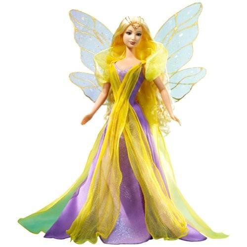 バービーBarbie Fairytopia Enchantress 銀 Label Collector