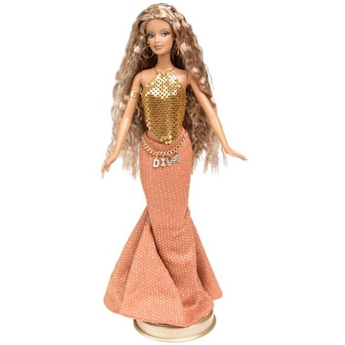 バービーBarbie Diva Collection All That Glitters Sublime Diva Collector Edition Doll (2002)