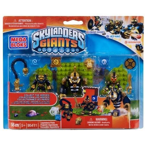 メガブロックMega Bloks Skylanders Legendary Pack