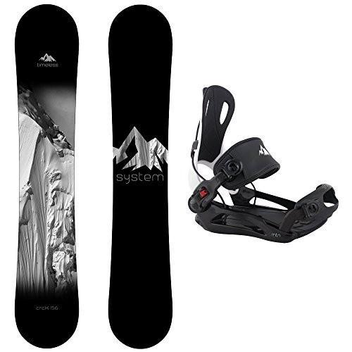 スノーボードSystem Package Timeless Snowboard 159 cm MTN Binding Large