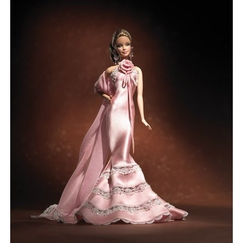 バービーBARBIE DESIGNER COLLECTON ゴールド LABEL - Badgley Mischka BARBIE BRIDE DOLL