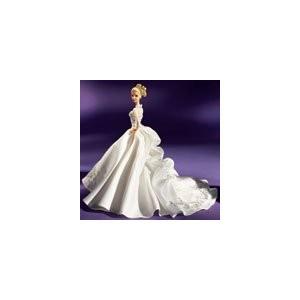 バービーReem Acra Bride Barbie Platinum Label