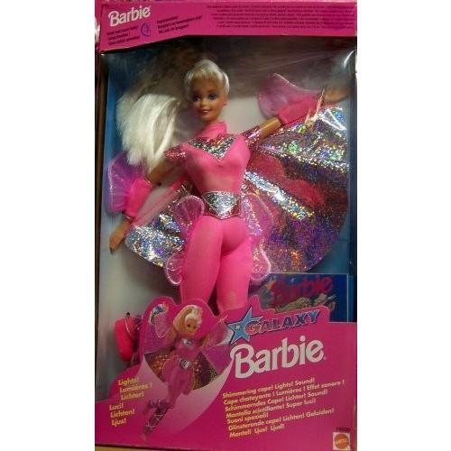 バービーBarbie Flying Hero Doll w Shimmering Cape! Lights & Sounds! (1995)