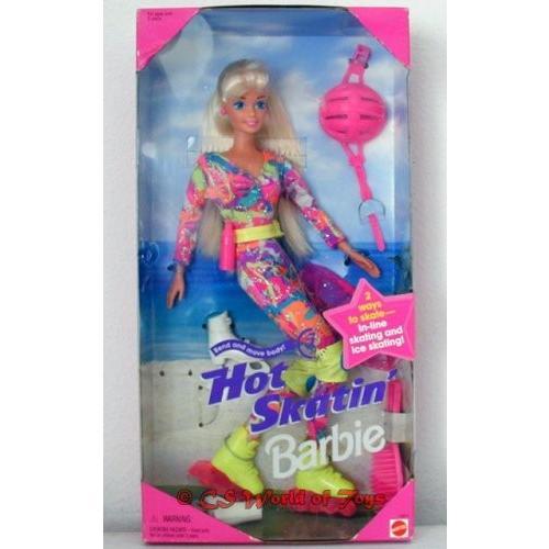 バービーBarbie Hot Skatin' With Bend And Move Body Doll (1994)
