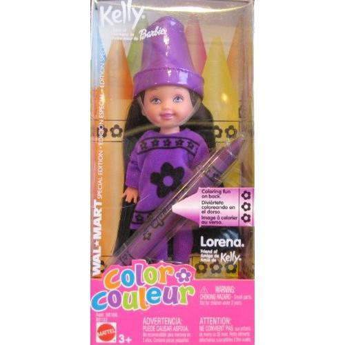 バービーMattel Barbie Kelly Lorena Color Doll: A Wal-Mart Special Edition Doll (2003)
