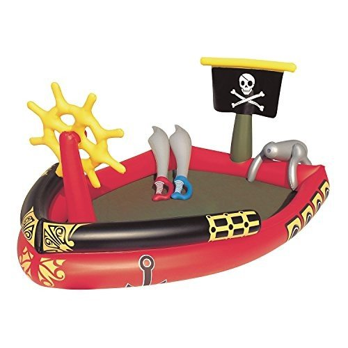 プールH2OGO! Pirate Play Center Inflatable Pool