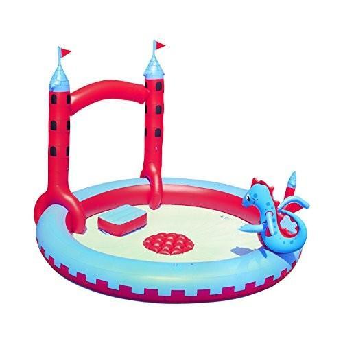 プールH2OGO! Inflatable Interactive Castle Play Pool