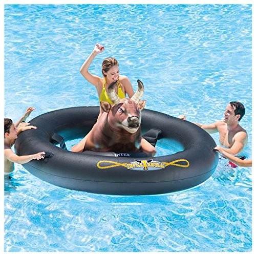 フロートInflatable Giant Bull-Riding Summer Party Pool