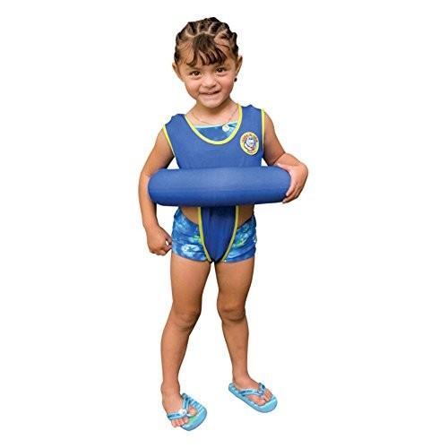 フロートPoolmaster 青 Learn-to-Swim Tube Trainer