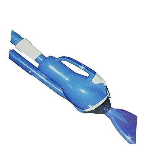 フロート青 and 白い EZ Pool Vacuum System for Inflatable, Framed and Above Ground Pools