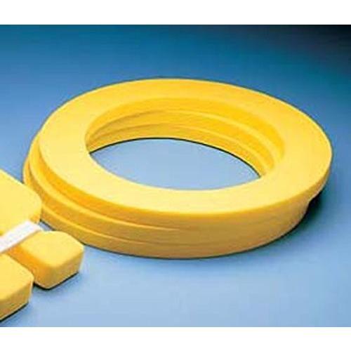 フロートPool Swimming Aquatic Fitness Floatable Support Ring 黄