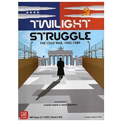 ボードゲームGMT Games Twilight Struggle Deluxe Edition