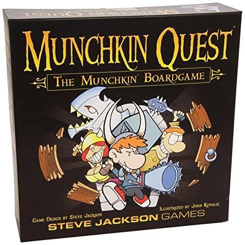 ボードゲームSteve Jackson Games Munchkin Quest Board Game