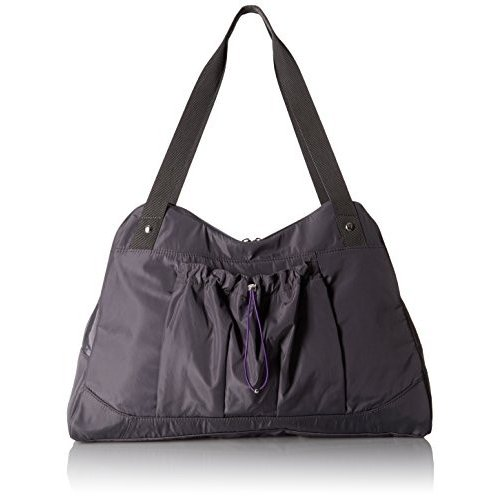 バッガリーニBG by Baggallini Motivate Yoga Tote, Smoke
