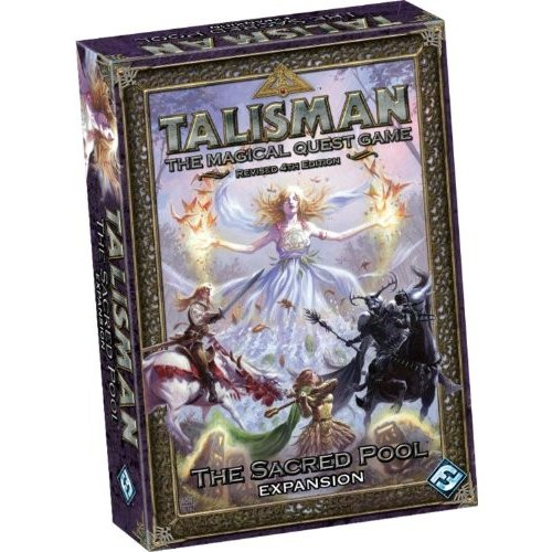 ボードゲームTalisman 4th Edition: The Sac赤 Pool Expansion