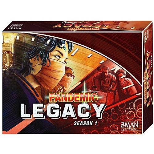 ボードゲームPandemic: Legacy Season 1 (赤 Edition)
