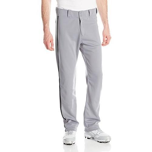 バットEaston Men's Mako II Piped Pants, グレー/黒, Small