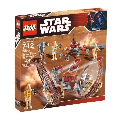 レゴLEGO Star Wars Hail-Fire Droid & Spider Droids