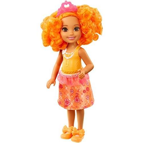 バービーBarbie Dreamtopia Rainbow Cove Sprite Doll - オレンジ