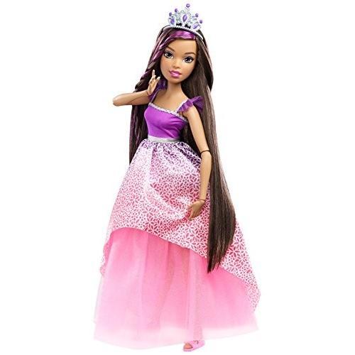 バービーBarbie Dreamtopia Princess Doll, ピンク/紫の