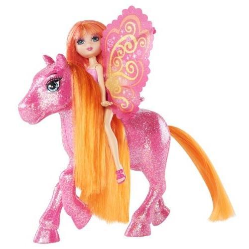 バービーBarbie A Fairy Secret Fairy and Pony - ピンク