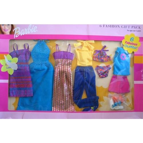バービーBarbie 6 Fashion Gift Pack 6 Fabulous Outfits! (2001)