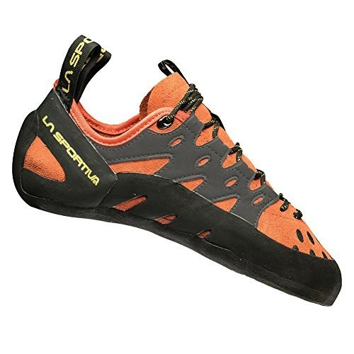海外正規品La Sportiva Men's TarantuLace Rock Climbing Shoe, Flame, 42.5