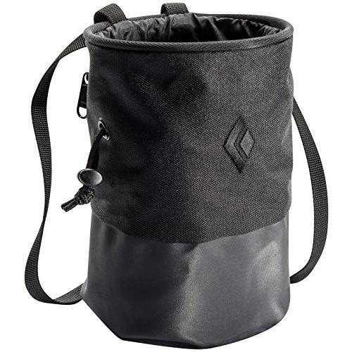 海外正規品Black Diamond Mojo Zip Chalk Bag - Black Medium/Large